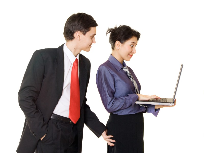 Non-verbal sexual harassment in the workplace