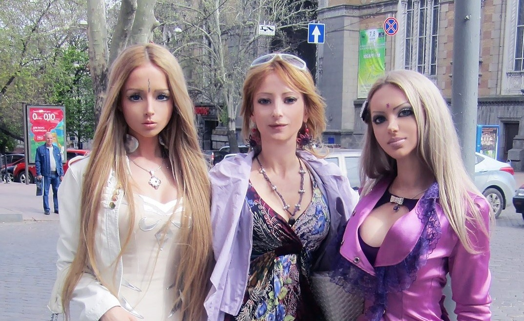 Meet the family of real life barbie valeria lukyanova these pictures