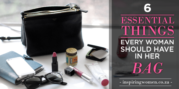 Essential Items Every Woman Should Have in Her Bag