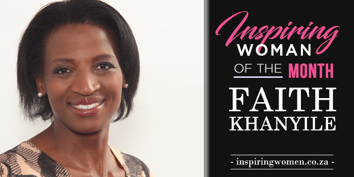 Faith Khanilye inspiring woman
