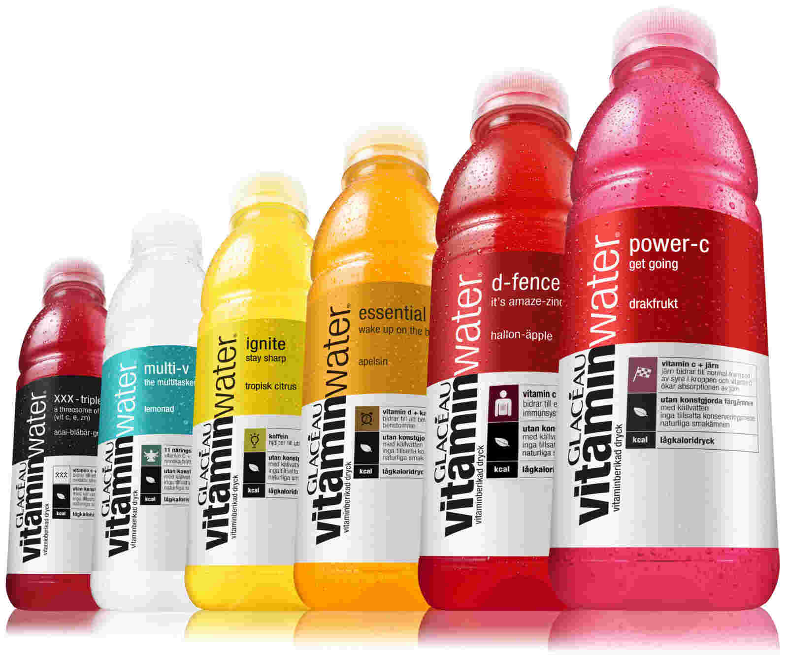 How Much Sugar is in vitamin water