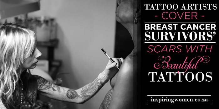 Tattoo Artists Cover Breast Cancer Scars