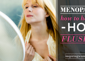 How to handle hot flushes