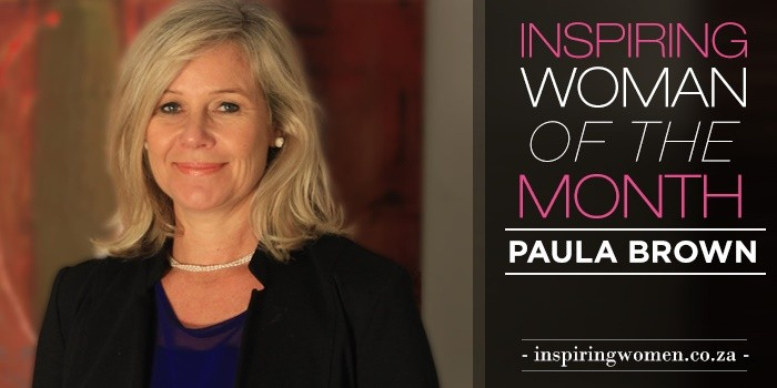 Paula Brown inspiring women