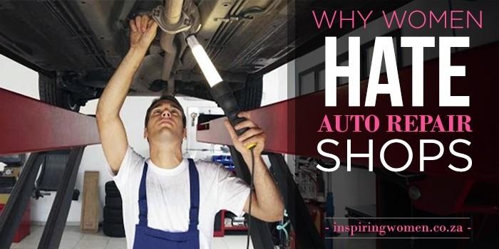 women auto repair shop