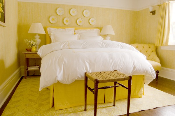 YELLOW  bedroom colour. What the Colour of Your Bedroom Says About You