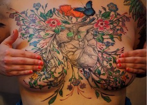 Tattoo Artists Cover Breast Cancer Survivors' Scars With Beautiful Tattoos