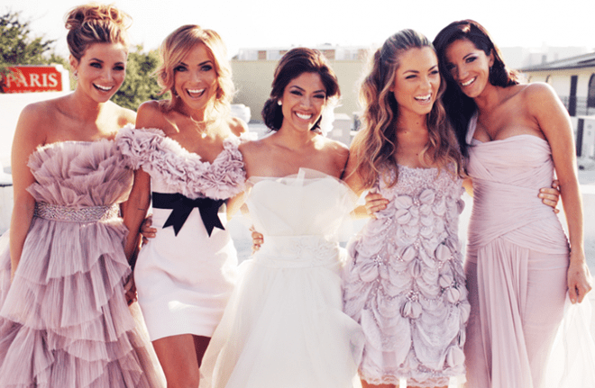 every woman wants to be a bridesmaid