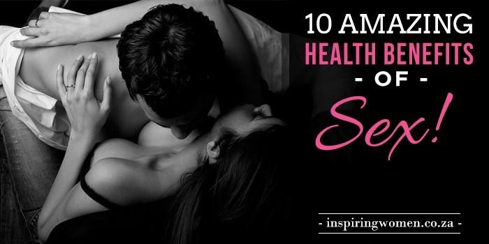 health benefits sex