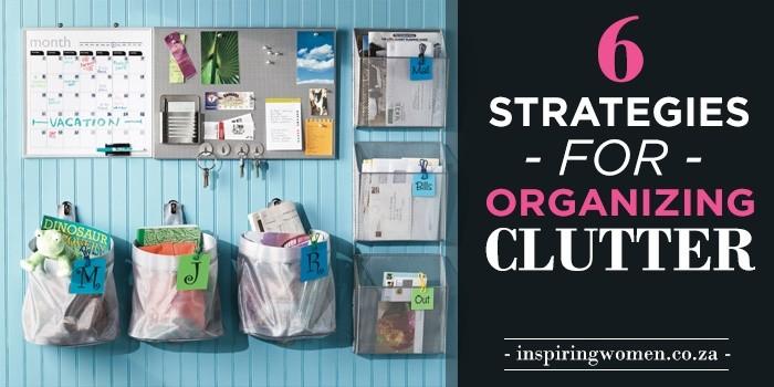 organising clutter
