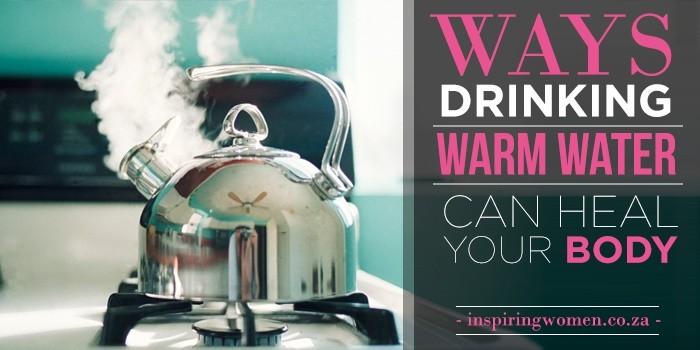 warm water heal