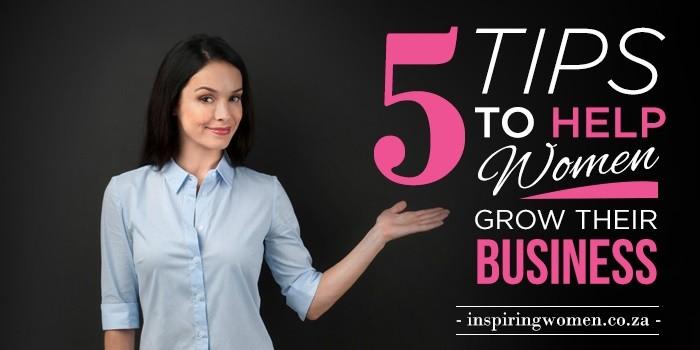 women grow busienss