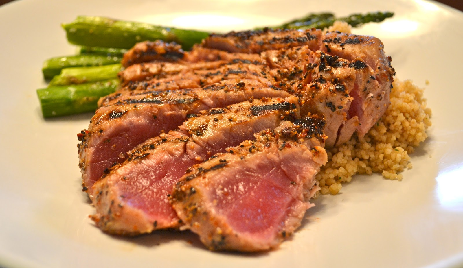Tuna Steak with Vegetables