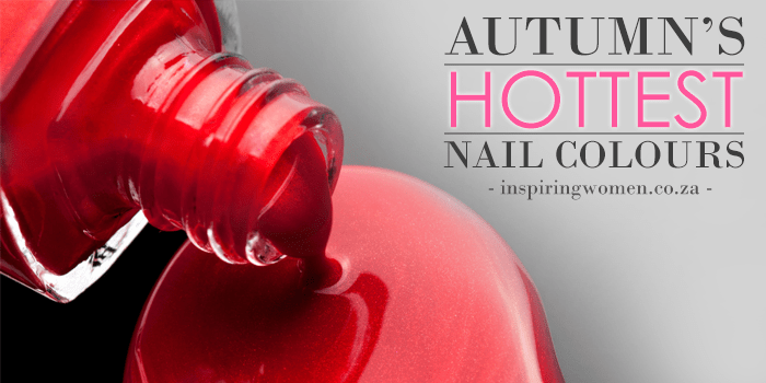 Autumn's Hottest Nail Colours