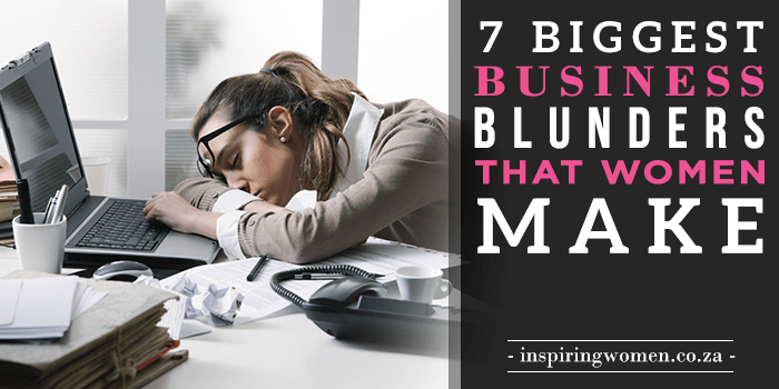 business blunders