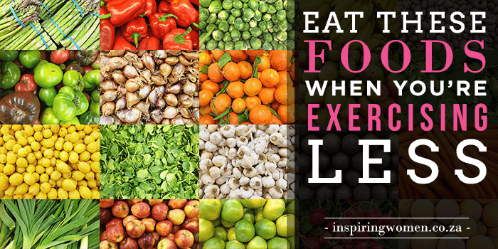 eat when exercise less