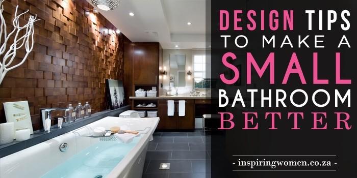 small bathroom tips
