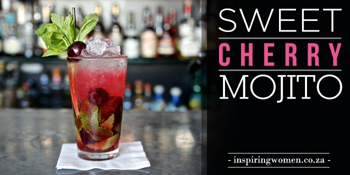sweet cherry mojito